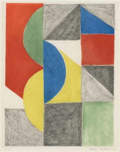 Untitled, 1969 by Sonia Delaunay at