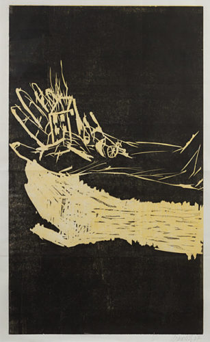 The Hand ( with Hard back catalogue) by Georg Baselitz