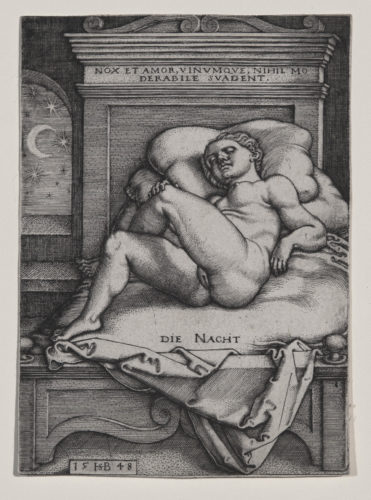 Die Nacht (The Night) by Hans Sebald Beham