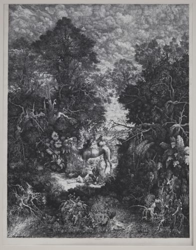 Le Bon Samaritain (The Good Samaritan) by Rodolphe Bresdin