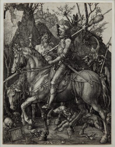 Knight, Death and the Devil by Albrecht Durer