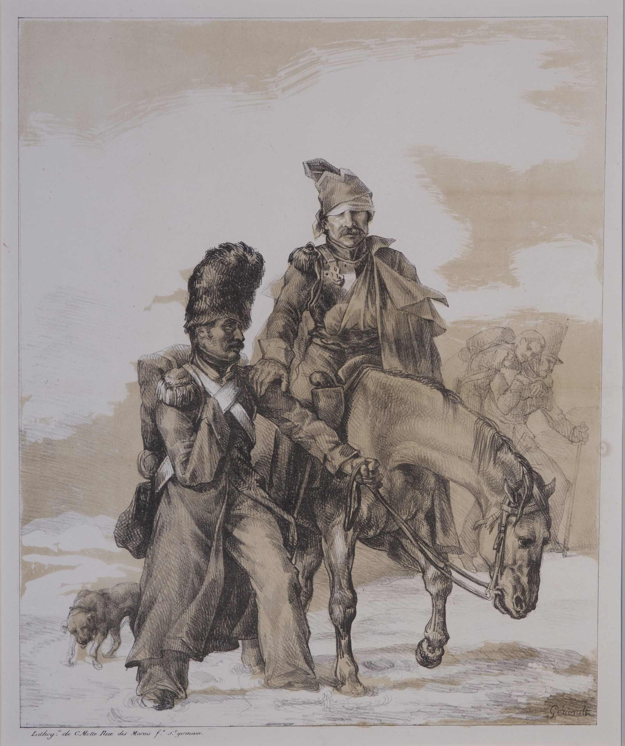 Retour de Russie [The Return from Russia] by Théodore Géricault