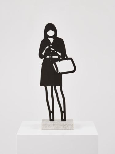 Handbag by Julian Opie