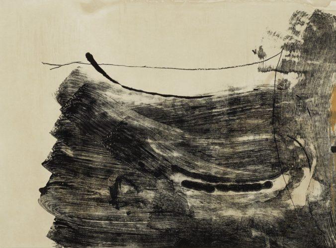 Ochre dust by Helen Frankenthaler