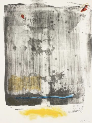 Walking Rain by Helen Frankenthaler