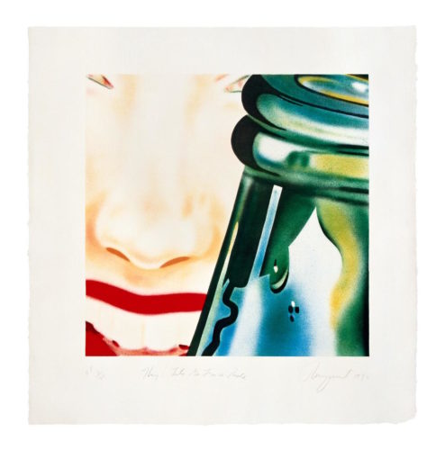 Let's Go For A Ride by James Rosenquist