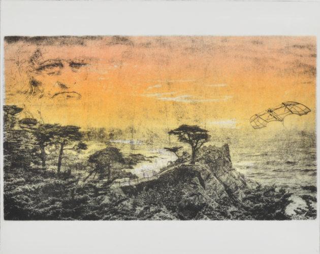 da Vinci at Monterey by Jim Gmeiner at