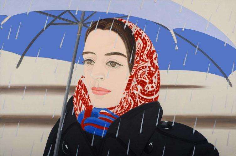 Blue Umbrella 2 by Alex Katz