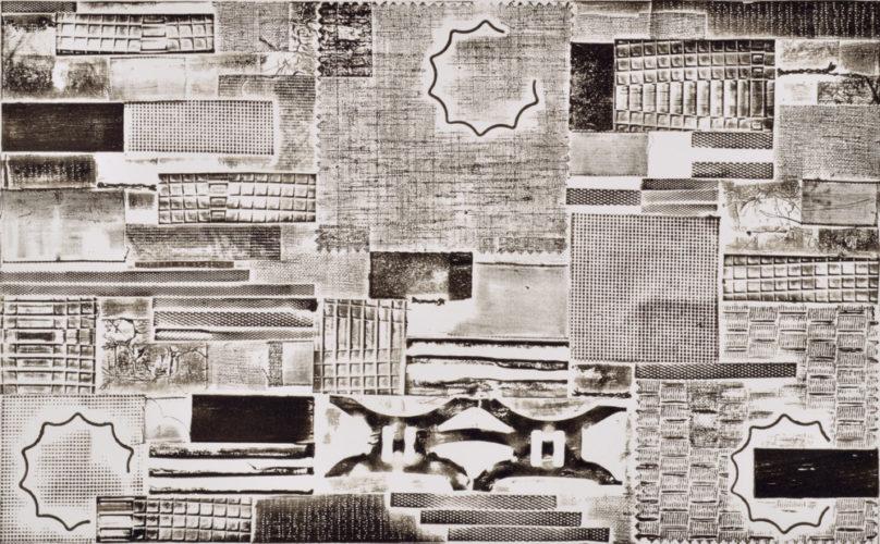 Pattern Language – B & W by Katie Kiefer at
