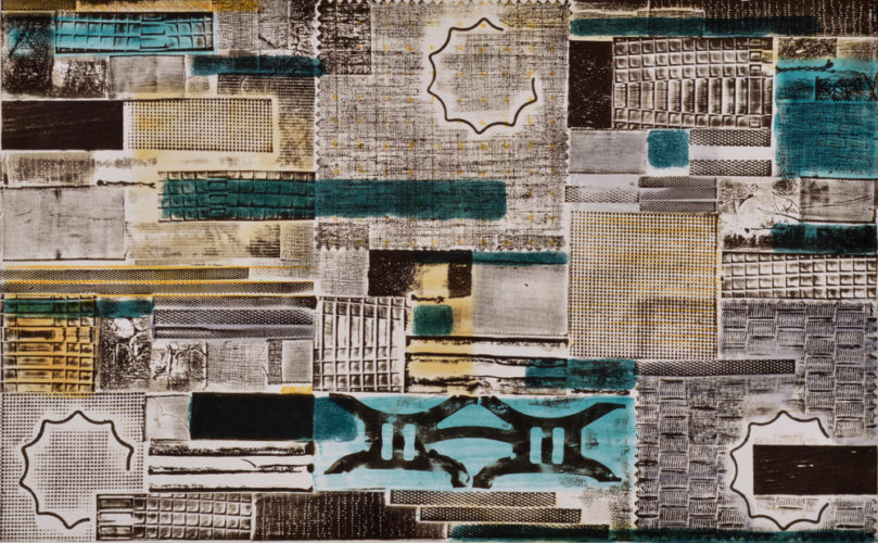 Pattern Language – Kind of Blue 1 by Katie Kiefer at