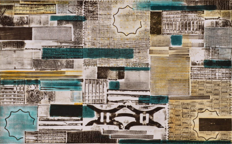 Pattern Language – Kind of Blue 2 by Katie Kiefer at