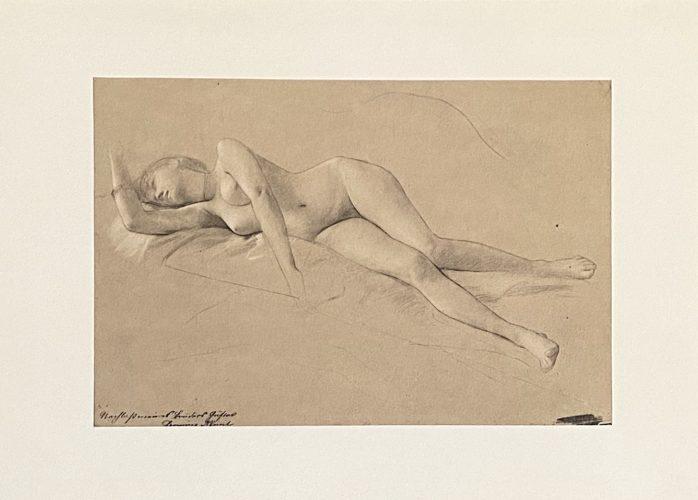 Untitled II.XIII by Gustav Klimt
