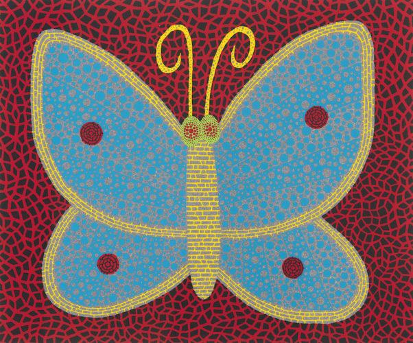 Papillon (II) by Yayoi Kusama at