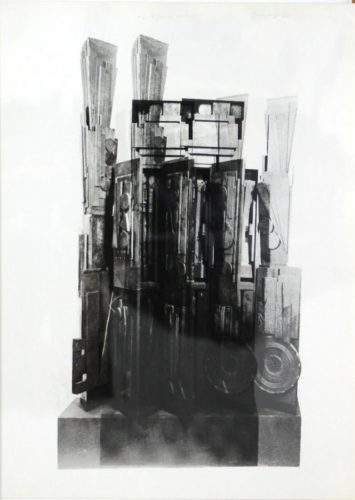 Clowns' Houses by Louise Nevelson