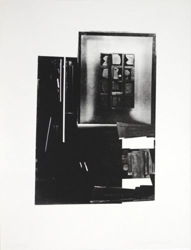 Dark song by Louise Nevelson