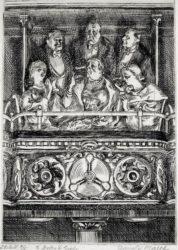 Opera Box by Reginald Marsh at Harris Schrank Fine Prints (IFPDA)