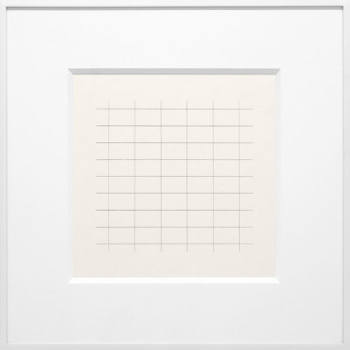 On a Clear Day #24 by Agnes Martin