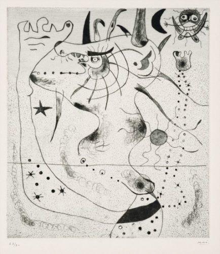 L'Eveil du geant by Joan Miro