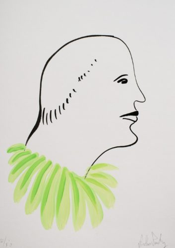 Untitled (Green) by Nicolas Party at
