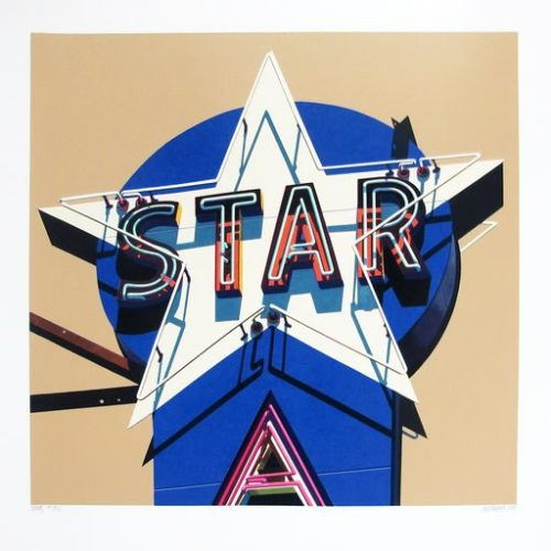 Star by Robert Cottingham at