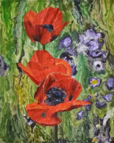 Poppies by Sari Davidson