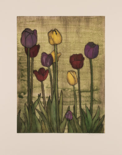 Little Shop of Tulips by Sari Davidson at
