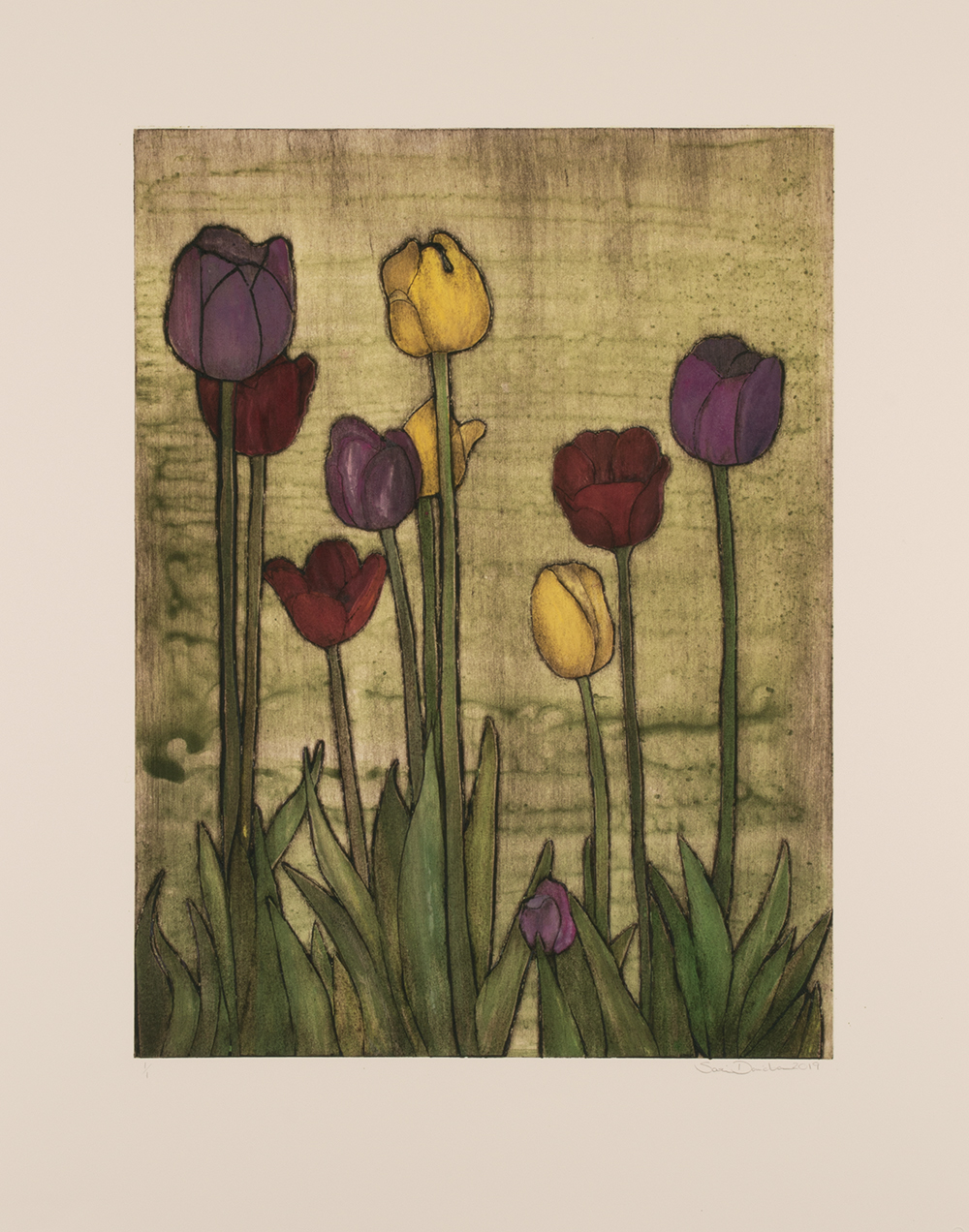 Little Shop of Tulips by Sari Davidson