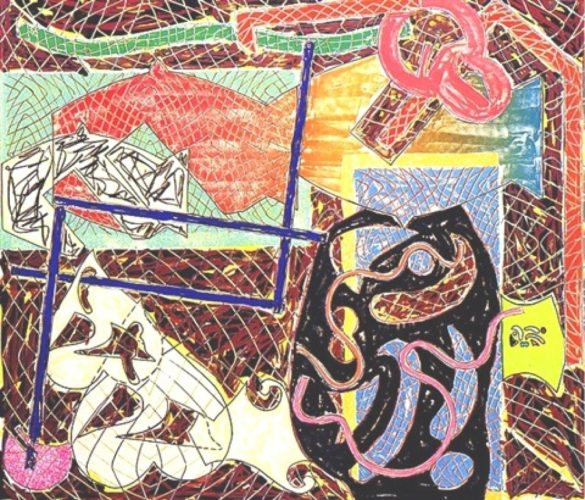 Shards II by Frank Stella