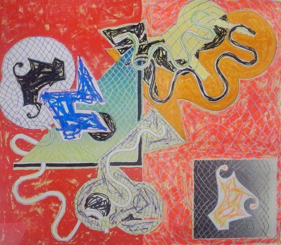 Shards IV by Frank Stella