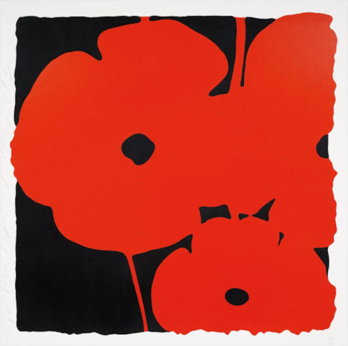 Big Poppies by Donald Sultan at Donald Sultan