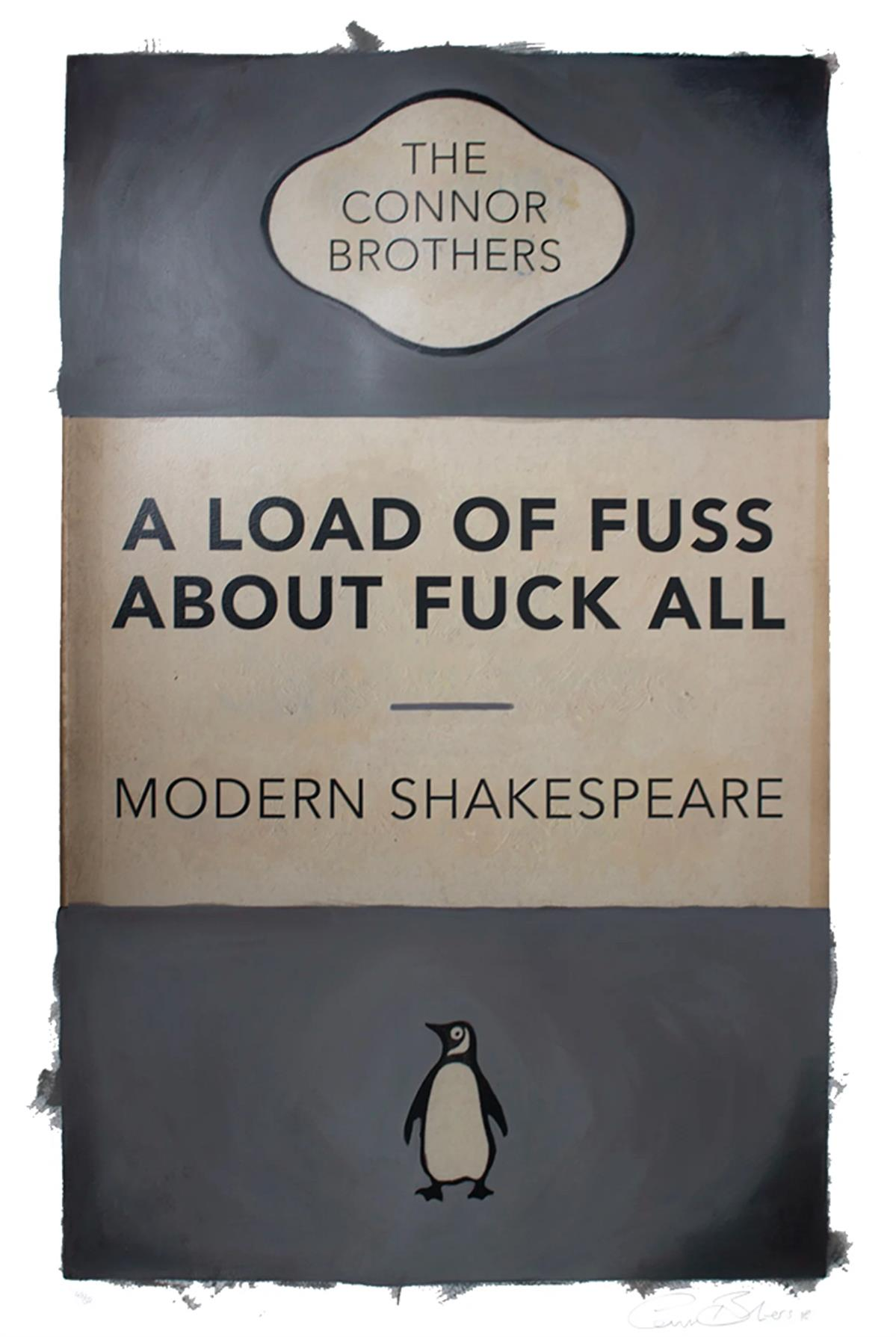 A Load of Fuss (Grey) by The Connor Brothers
