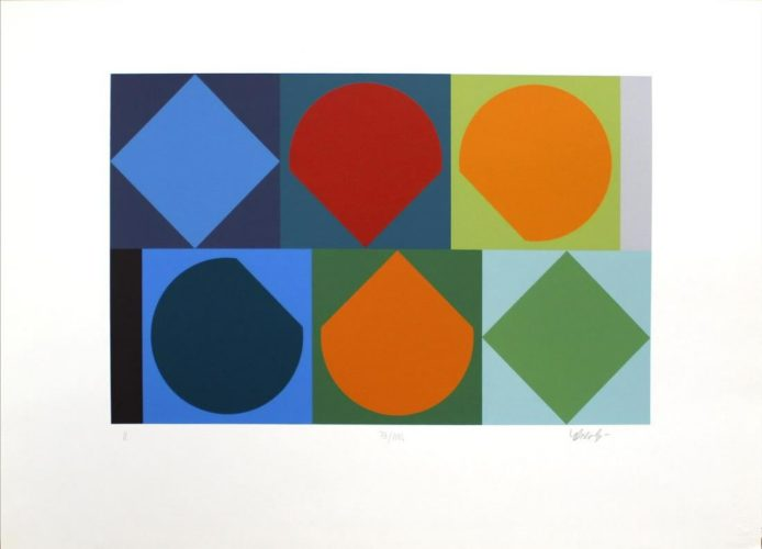 Untitled II by Victor Vasarely