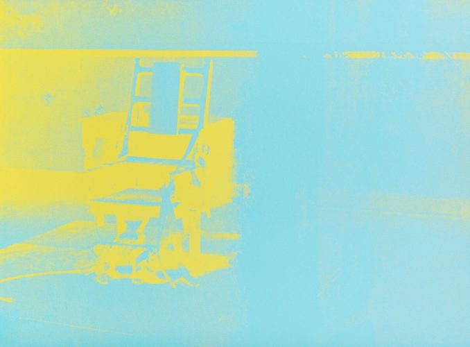 Electric Chair #77 by Andy Warhol
