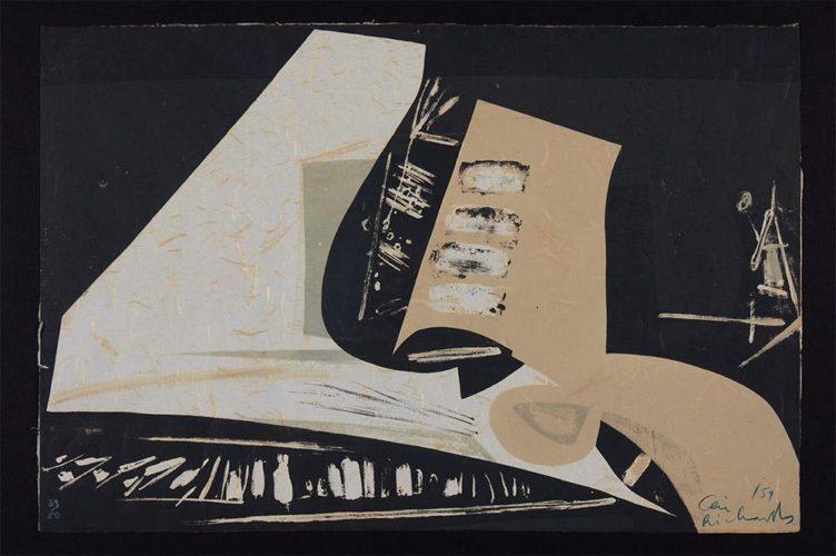 Hammerklavier by Ceri Richards at
