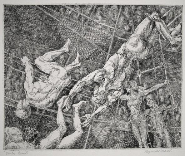 Flying Concellos by Reginald Marsh at Reginald Marsh