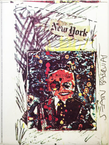 Untitled (New York) by Jean-Michel Basquiat at Jean-Michel Basquiat