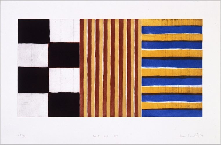 Black, Red, Blue by Sean Scully