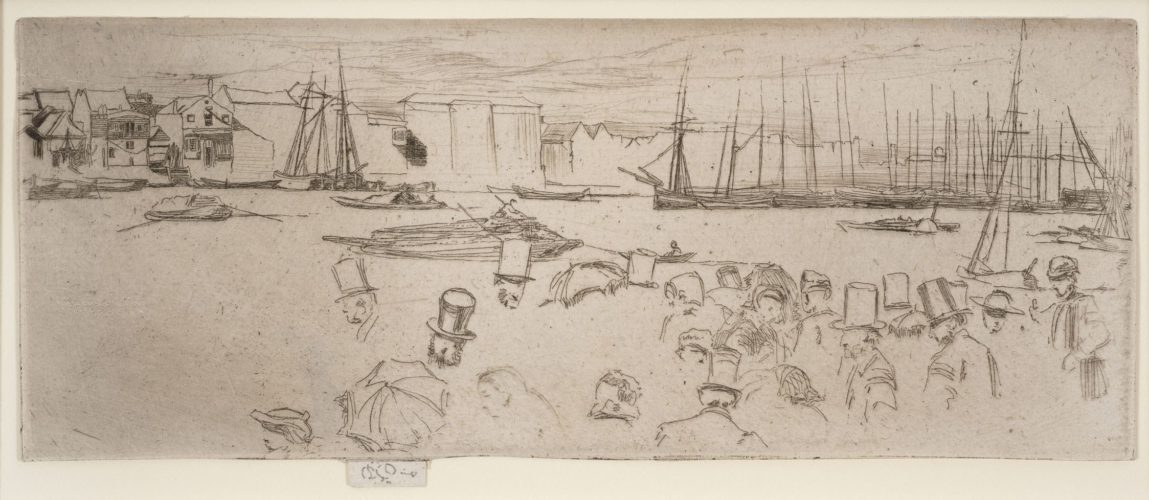 Penny Passengers by James Abbott McNeill Whistler