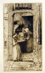 The Mustard Merchant by James Abbott McNeill Whistler at Harris Schrank Fine Prints (IFPDA)