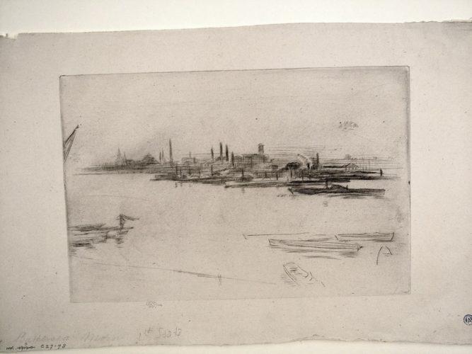 Battersea Morn by James Abbott McNeill Whistler