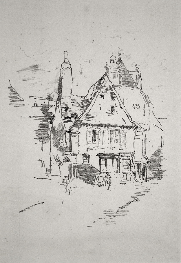Gabled Roofs by James Abbott McNeill Whistler