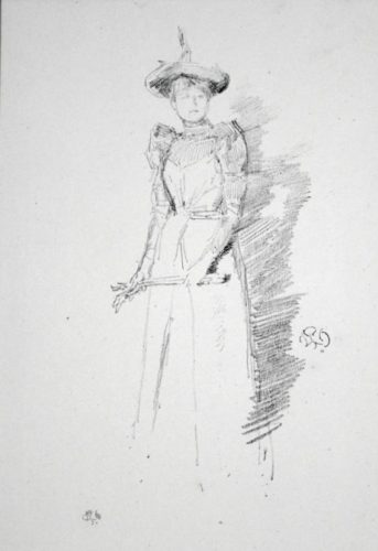Gants de Suede by James Abbott McNeill Whistler at