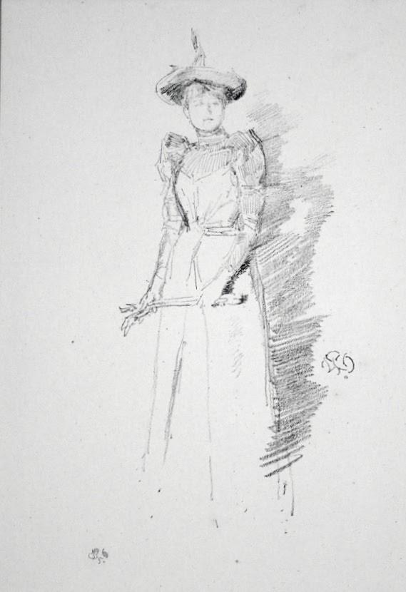 Gants de Suede by James Abbott McNeill Whistler