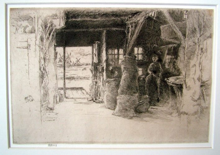 The Mill, Amsterdam by James Abbott McNeill Whistler