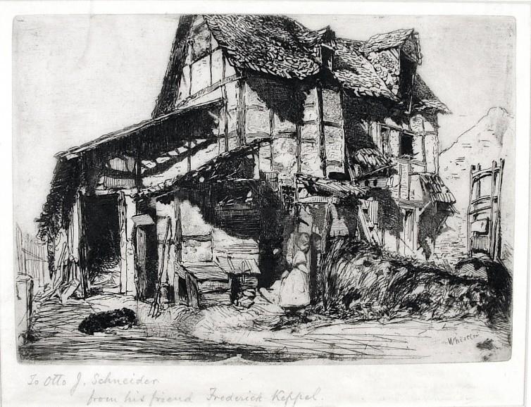 The Unsafe Tenement by James Abbott McNeill Whistler
