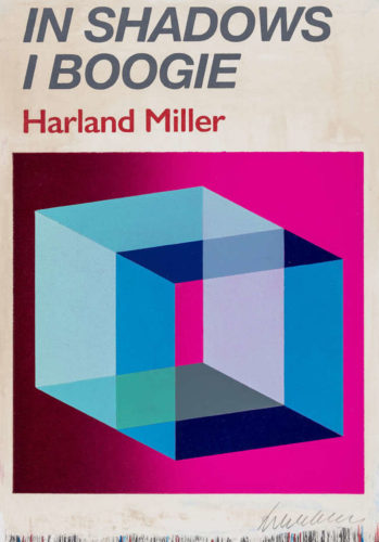 In Shadows I Boogie (Pink) – Box Print by Harland Miller at
