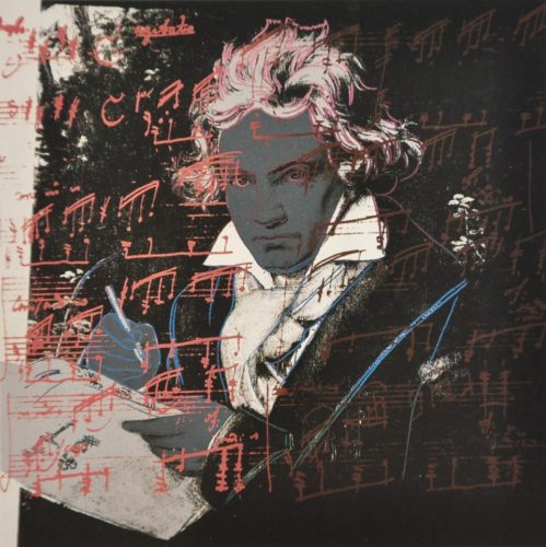 Beethoven (FS II.391) by Andy Warhol