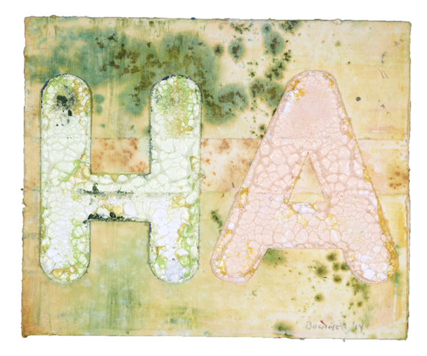 Ha by Mel Bochner at