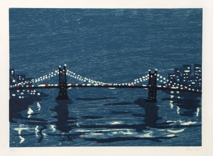 Bridges I by Richard Bosman at