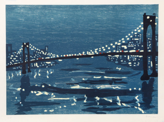 Bridges III by Richard Bosman at